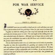 WWII Memorabilia
