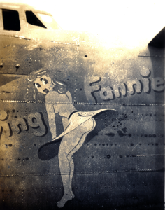 B-24 bomber named Flying Fannie